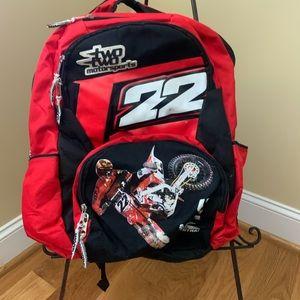 Motocross Bookbag 📚